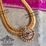 Grand Silver Temple Necklace From Sree Exotic Silver Jewelleries
