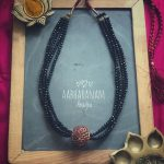 Pretty Layered Necklace From Abharanam