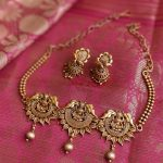Simple Lakshmi Choker Set From Daivik
