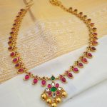 Simple Silver Necklace From Rajatamaya