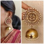 Stunning Light Weight Jhumkas From Daivik
