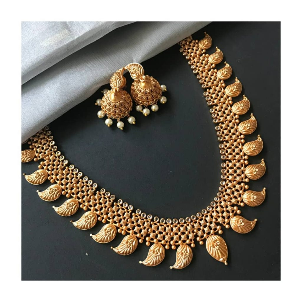 Stunning Mango Necklace From Kattam