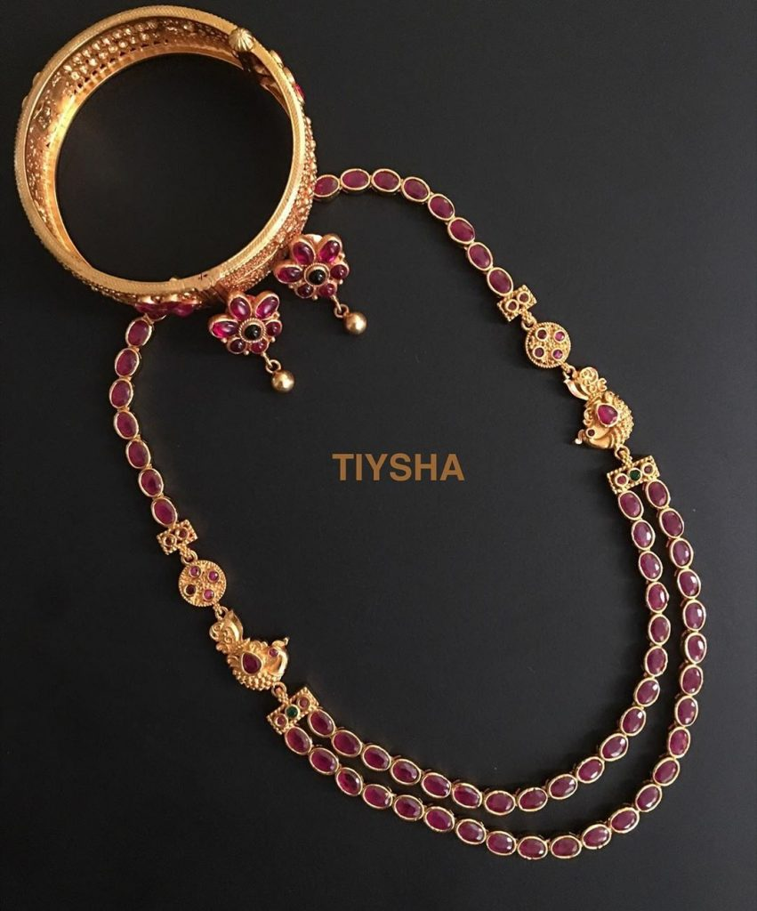 Stunning Silver Necklace Set From Thetiysha