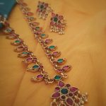 Traditional Mango Necklace Set From Vasah India