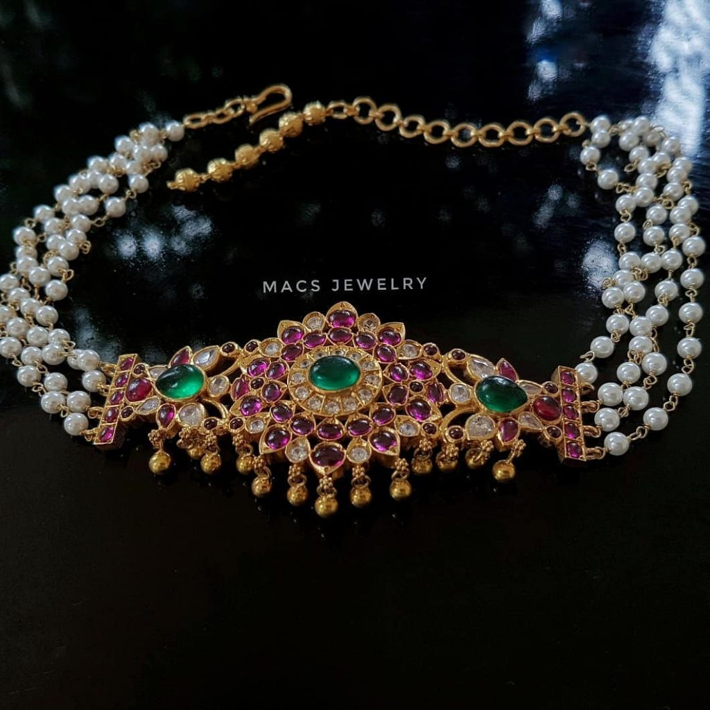 Traditional Silver Choker From Macs Jewellery
