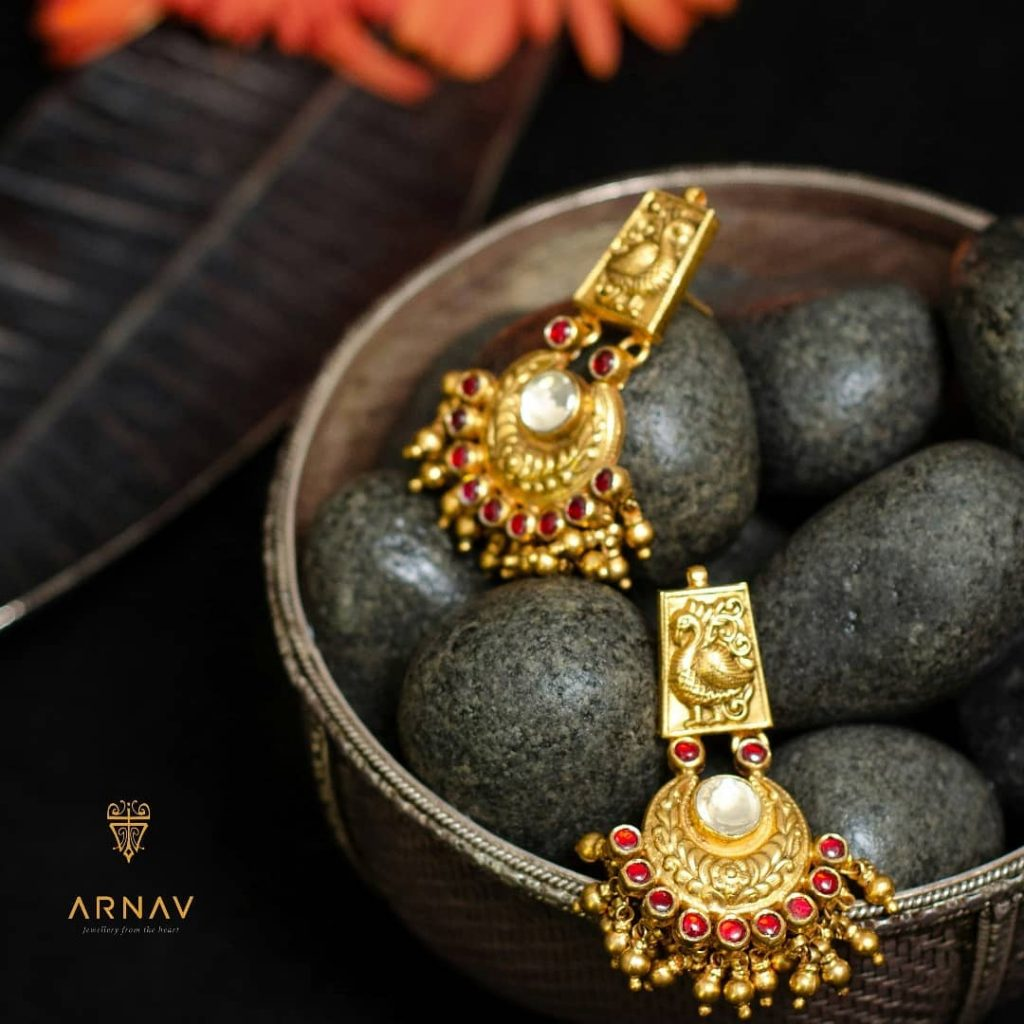 Trendy Earrings From Arnav Jewellery