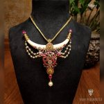 Unique Gold Necklace From Arnav Jewellery
