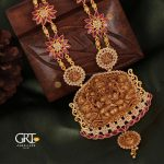 Alluring Temple Neclace From GRT Jewellers