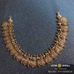 Antique Short Temple Necklace From Sri Vasavi Thangamaligai