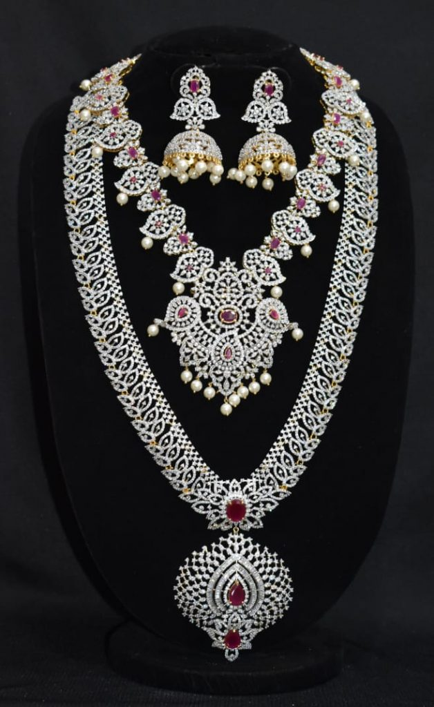 Attractive Bridal Necklace Sets From Arihant Silver Palace