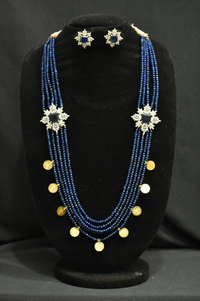 Attractive Necklace Set From Arihant Silver Palace
