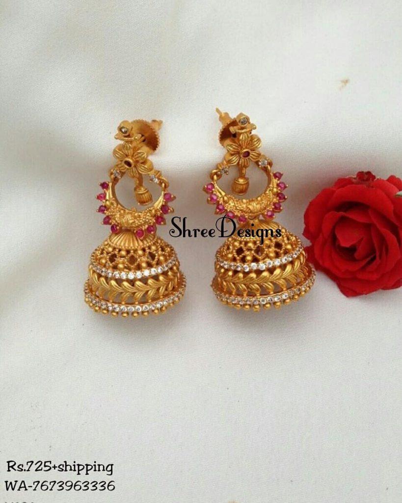 Beautiful Earrings From Shree Designs