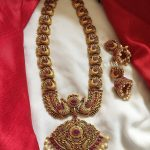 Beautiful German Silver Long necklace From Emblish Coimbatore