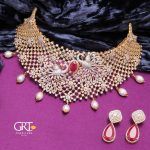 Charming Peacock Gold Necklace From GRT Jewellers