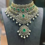 Classy Royal Diamond Necklace From P Satyanarayan And Sons