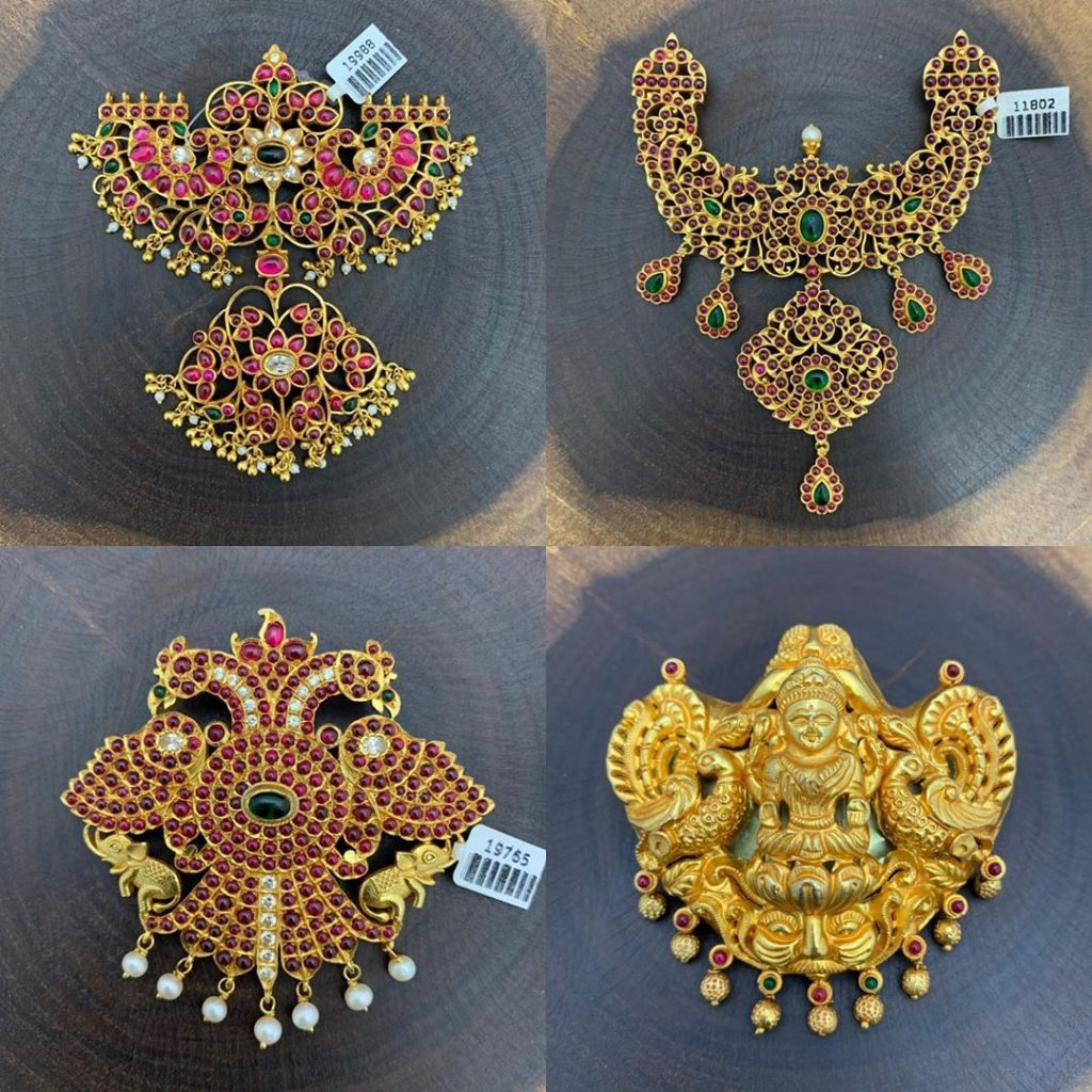 Cute Gold Plated Silver Pendant From Silver Stone Matapayals