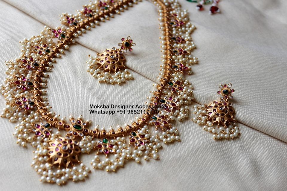 Ethnic Neclace Set From Moksha Designer Accessories