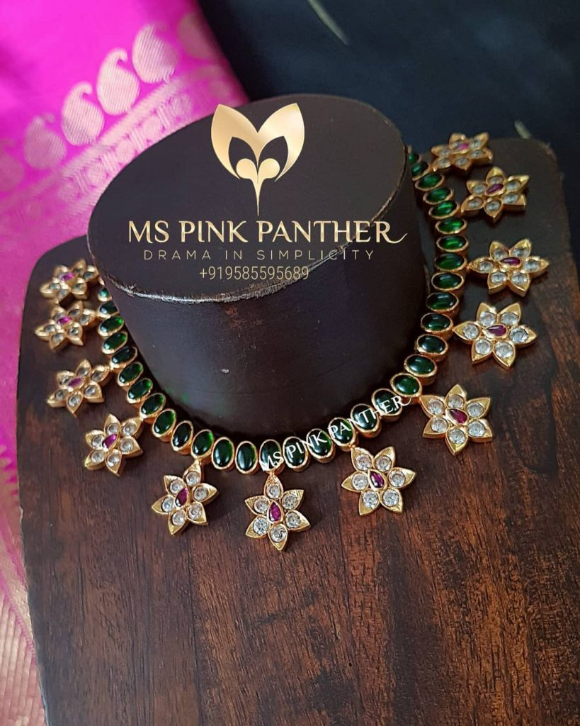 Ethnic Silver Necklace From Ms Pink Panthers
