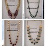 Exclusive Beaded Necklace From Sri Mahalakshmi Gems And Jewellers