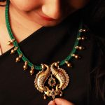 Eye Catching Thread Necklace From Antique Trends