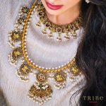 Ganesha Flower Temple Necklace From Tribe By Amrapali