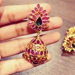 Glittering Jhumkas From Sneha Rateria