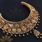 Grand Silver Choker From Prade Jewels
