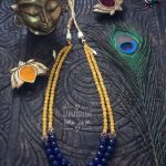 Hand Crafted Beaded Necklace From Aabharanam