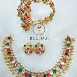 Navrathna Necklace Set From Precious And You