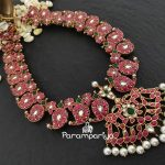 Silver Kundan Necklace From Parampariya