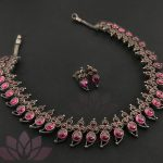 Stylish Silver Necklace From Prade Jewels