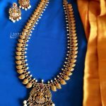 Traditional Long Necklace Set From Aarvee