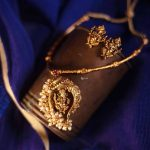 Antique Ganesha Pendant Set From Anicha
