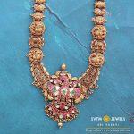 Attractive Gold Long Haram From Sri Vasavi Thanga Maligai