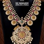 Attractive Gold Necklace From Sri Mahalakshmi Gems And Jewellers