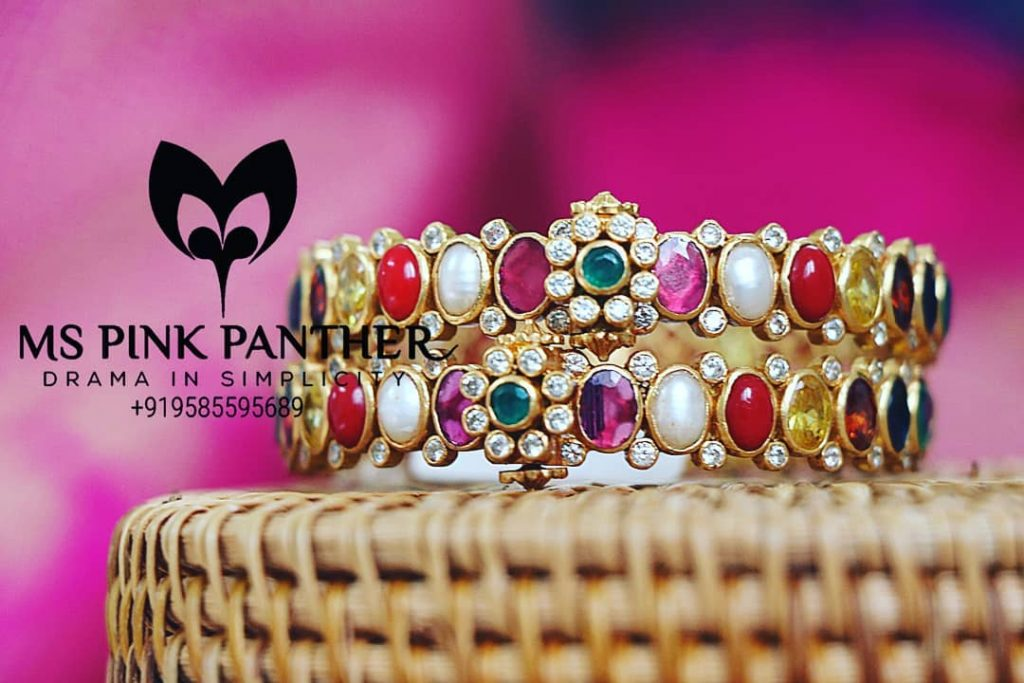 Attractive Silver Bangles From Ms Pink Panthers