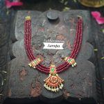 Beautiful Decorative Necklace From Abharanam