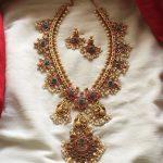 Beautiful Guttapusalu Necklace Set From Emblish Coimbatore