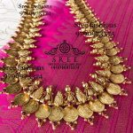 Beautiful Silver Temple Necklace From Sree Exotic Silver Jewelleries