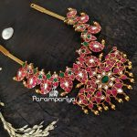 Classic Silver Kundan Necklace From Parampariya