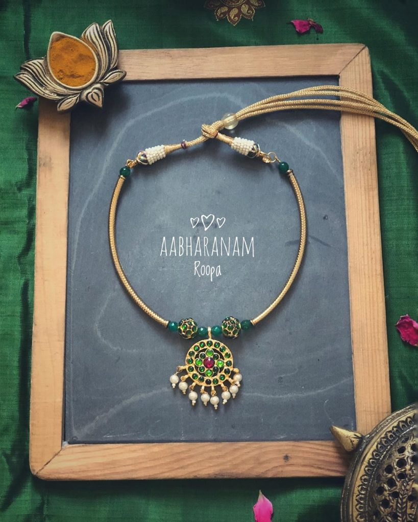 Cute Necklace From Abharanam