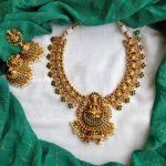 Decorative Temple Necklace From Daivik