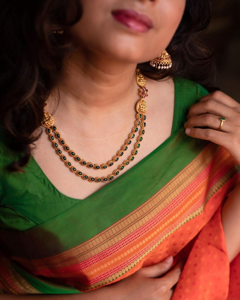 Delightful Layered Necklace From Prade Jewels