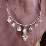 Delightful Silver Necklace From Shylebyastha