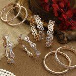 Designer American Diamond Bangles From The Bling Bag