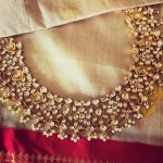 Elegant Silver Gold Plated Kundan Necklace From Maree Gold