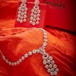 Elegant Stone Necklace Set From Kushal's Fahion Jewellery