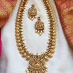 Ethnic Necklace Set From Emblish Coimbatore