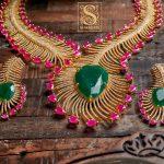 Eye Catching Necklace Set From Shaburis