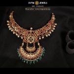 Gorgeous Gold Necklace From Sri Vasavi Thanga Maligai